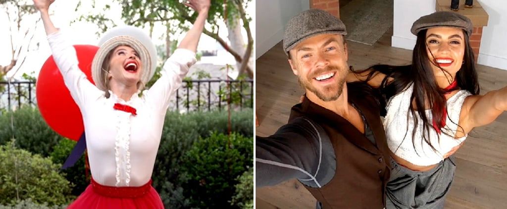 Julianne and Derek Hough's Disney Singalong Performance
