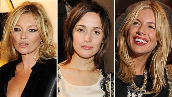 Front Row Celebs Including Alexa Chung, Kate Moss and Sarah Jessica Parker at London Spring 2011 Fashion Week
