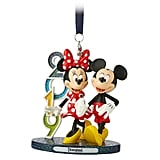 Mickey and Minnie Mouse 2019 Figural Ornament