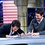 Tom Cruise joked around with the host of El Hormiguero.