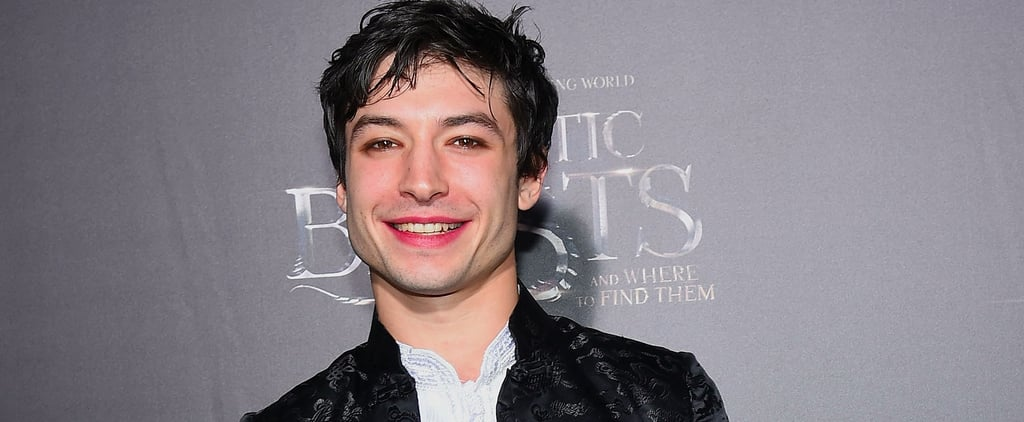 Proof That Ezra Miller Is a Sweet Angel Who Just Wanted a Damn Wand