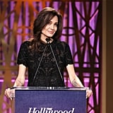 Angelina Jolie at THR Women in Entertainment Event 2017