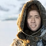 Ygritte, aka Nic Cage, would definitely still agree that Jon Snow knows nothing.