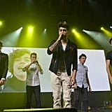 One Direction Performing at the iTunes Festival in 2012