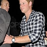 Prince Harry partied in London.