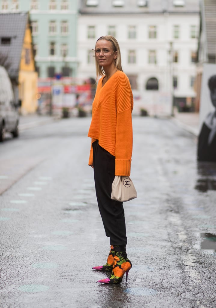 Chunky Knit and Matching Boots