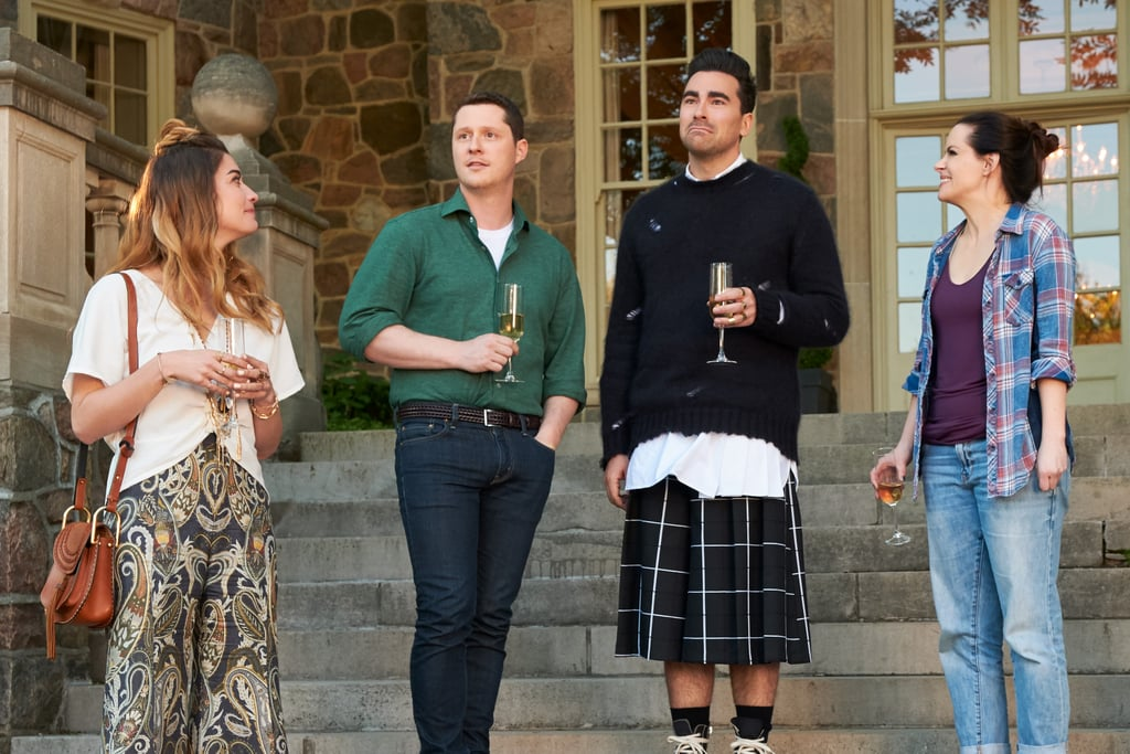 Oh, and let's not forget about that plaid kilt — iconic!
