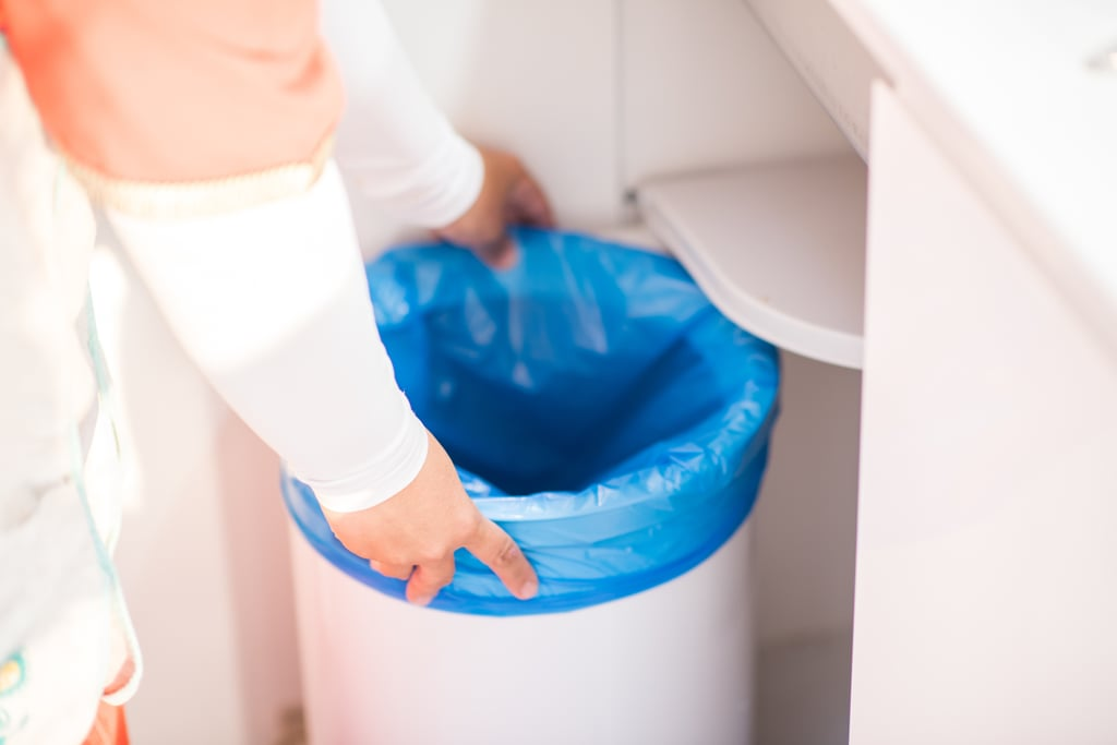 Disinfect the Trash Can