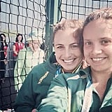 The Queen Photobombed Athletes at the Commonwealth Games . . .