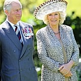 "That same year the royal family was rocked by ""Camillagate,"" where a conversation between Camilla and Charles, in which Charles said he wanted to be her tampon, was caught on tape and published in 1992. Camilla and Andrew Parker Bowles's marriage officially ended in March 1995, and Prince Charles and Princess Diana officially divorced in August 1996. Prince Charles and Camilla continued to see each other in private and didn't formalize their relationship until 1999 when they attended Camilla's sister's 50th birthday party together. In 2005, the Queen officially gave the pair permission to get married. She was quoted saying at their wedding reception, ""My son is home and dry with the woman he loves."""