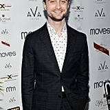 On Tuesday night, Daniel Radcliffe sported a suit and scruff at the Moves Magazine Summer Issue Party in NYC.