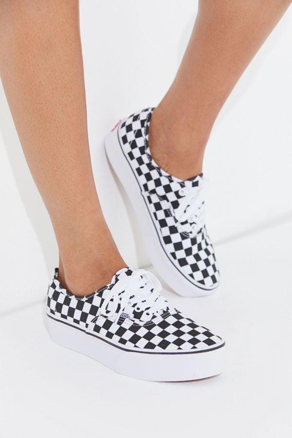 Vans Authentic Platform 2.0 Checkerboard Sneaker | Consider This ...