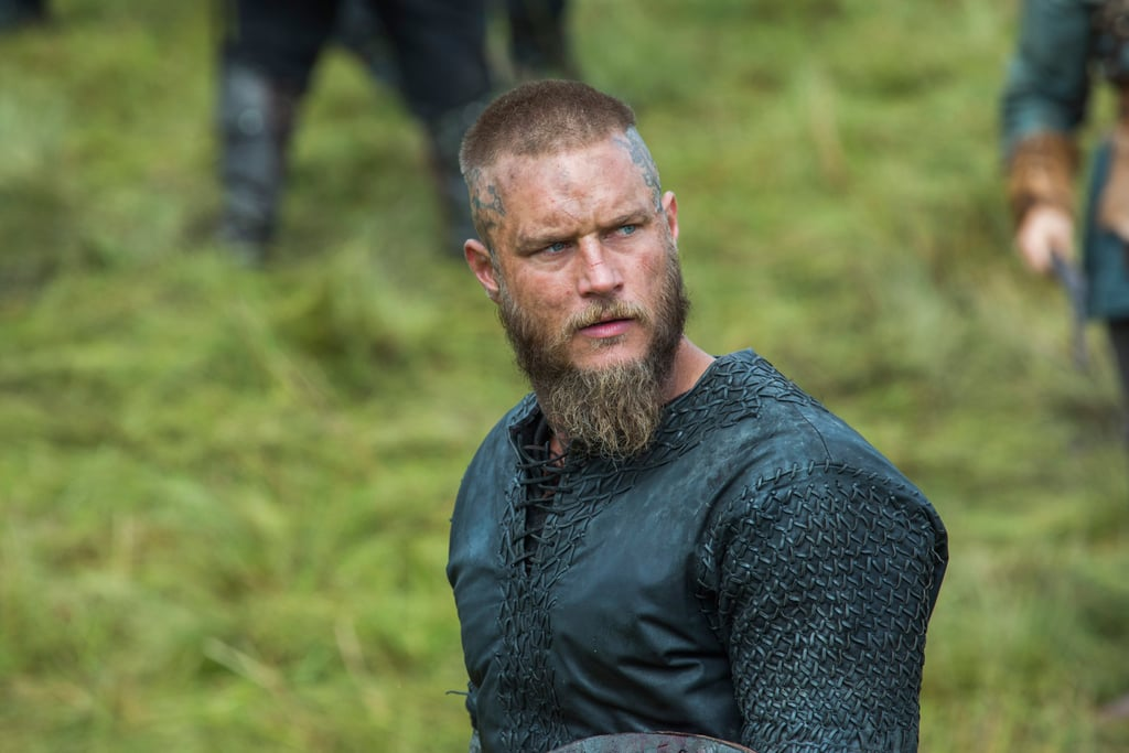 If you haven't started Vikings yet, let this face convince you.