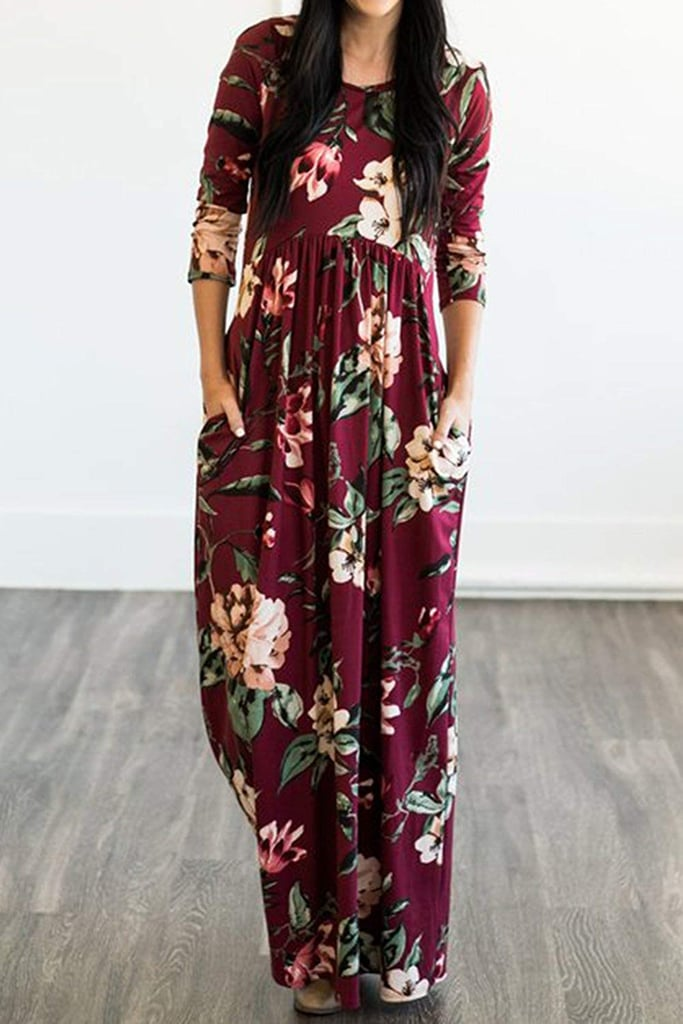 MITILLY Floral Print Dress