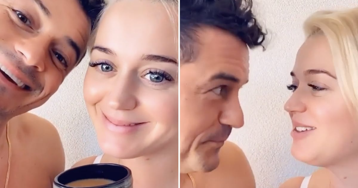 """Orlando Bloom and Katy Perry Serenade Fans With a Catchy Voting Song: """"For Daisy Dove"""""""