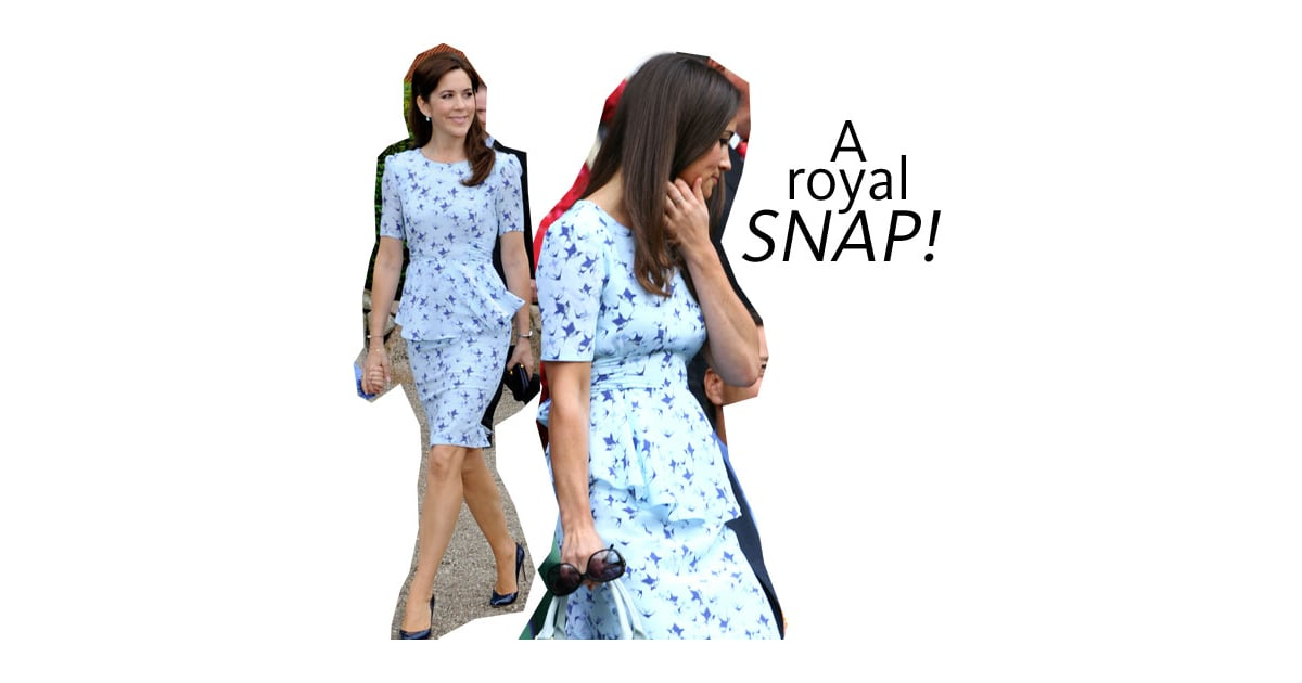 Pippa Middleton Wears Same 'Phoebe' Bluebird Print Project ...