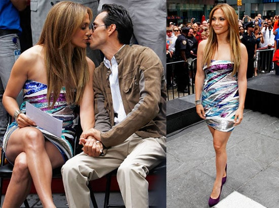 Pictures of Jennifer Lopez and Marc Anthony at a Boys and Girls Club Event in NYC 2010-06-10 15:30:00