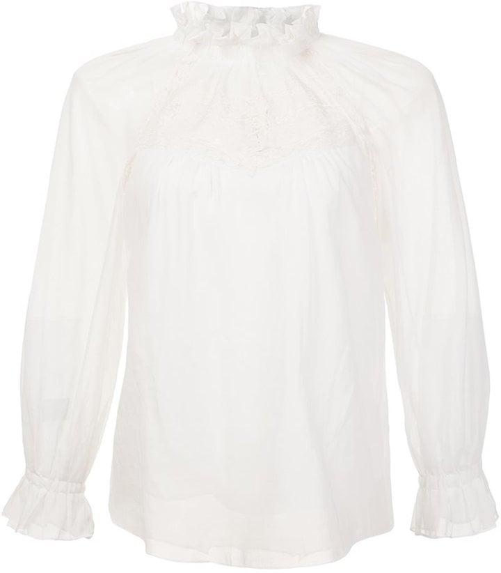 Marc Jacobs Lace Panel Blouse ($350)
