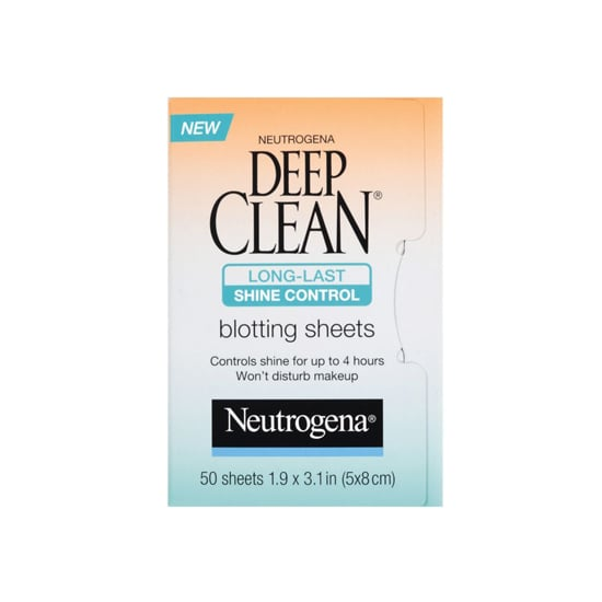An oily complexion is no match for Neutrogena Deep Clean Shine Control Blotting Sheets ($7).