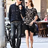 Newlyweds Kate Bosworth and Michael Polish took a sweet stroll while running errands in LA on Tuesday.