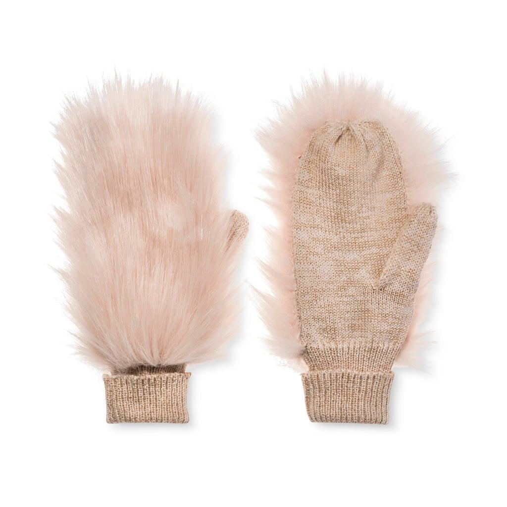 Target Women's Fur Mittens ($17)