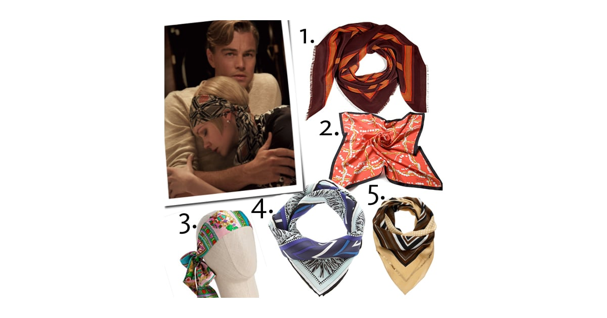 Silk Headscarves Like Daisy Buchanan Wears in The Great