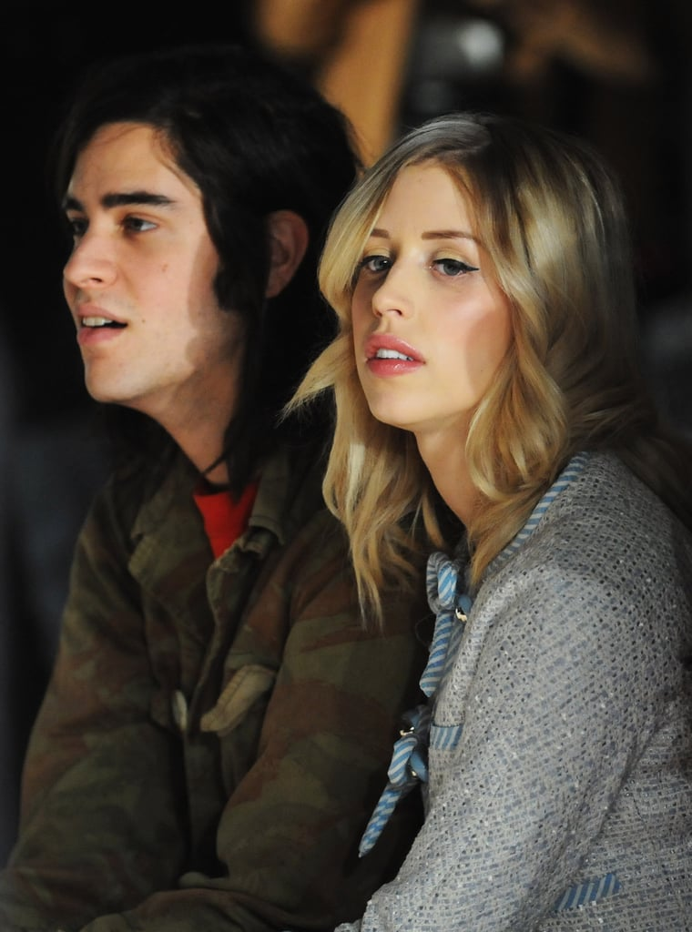 Thomas Cohen and Peaches Geldof at Moschino Cheap & Chic