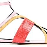 Oscar de la Renta strappy flat sandals