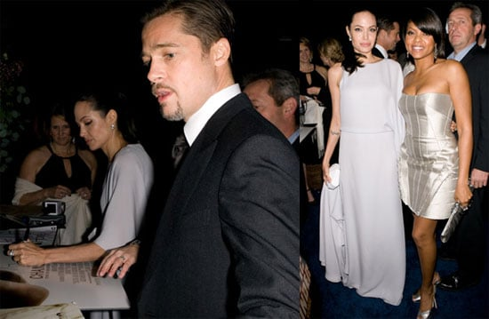 Photos of Brad Pitt and Angelina Jolie at the 2009 Critics Choice Awards