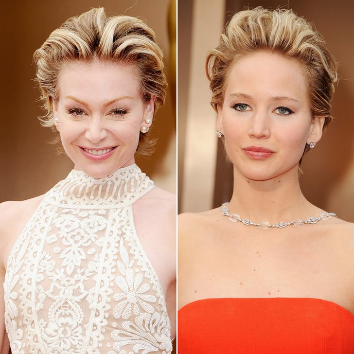 Portia De Rossi New Hair: Portia De Rossi And Jennifer Lawrence