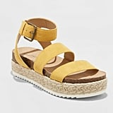 Agnes Quarter Strap Espadrille Sandals