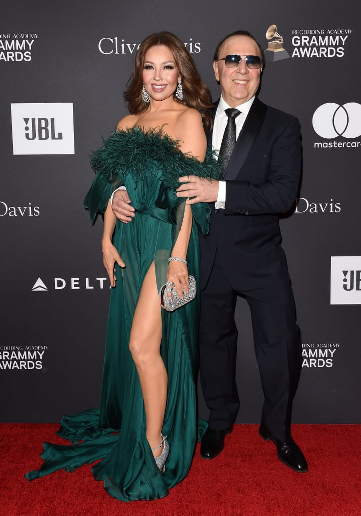 Thalia and Tommy Mottola | Celebrities at Clive Davis Pre ...