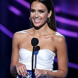 Jessica Alba Makes Her Triumphant Return to the Red Carpet and Stage