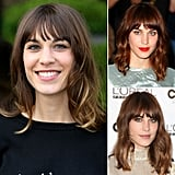 Who: Alexa Chung The look: Enviable bed head Alexa Chung has a head of hair that girls on Tumblr are green with envy over. How can we achieve it? Spritz a salt spray on your hair, and finger-dry it with a blow dryer. Use a medium- to large-barrel curling iron on random sections of hair once dry for that ultimate cool-girl coif.