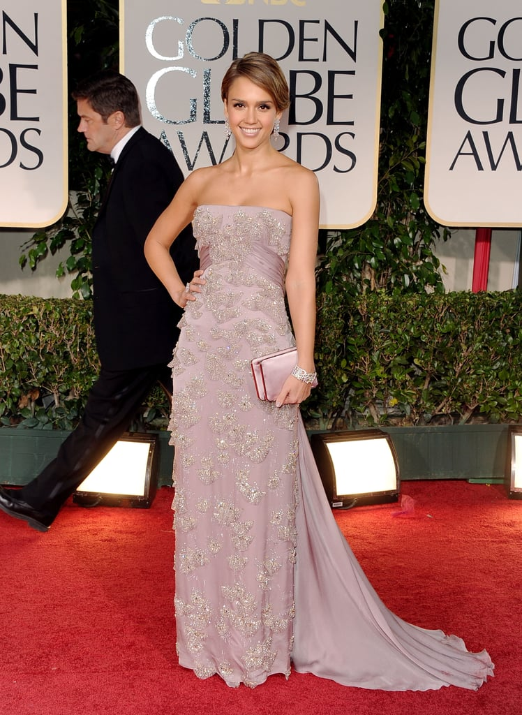 Jessica Alba in Gucci in 2012.