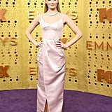 Sophie Turner's Louis Vuitton Emmys Dress Is Pink Satin