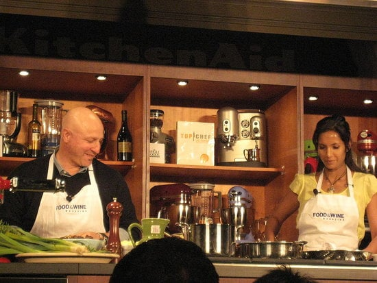 Top Chef's Tom and Padma Get Flirty and Fun