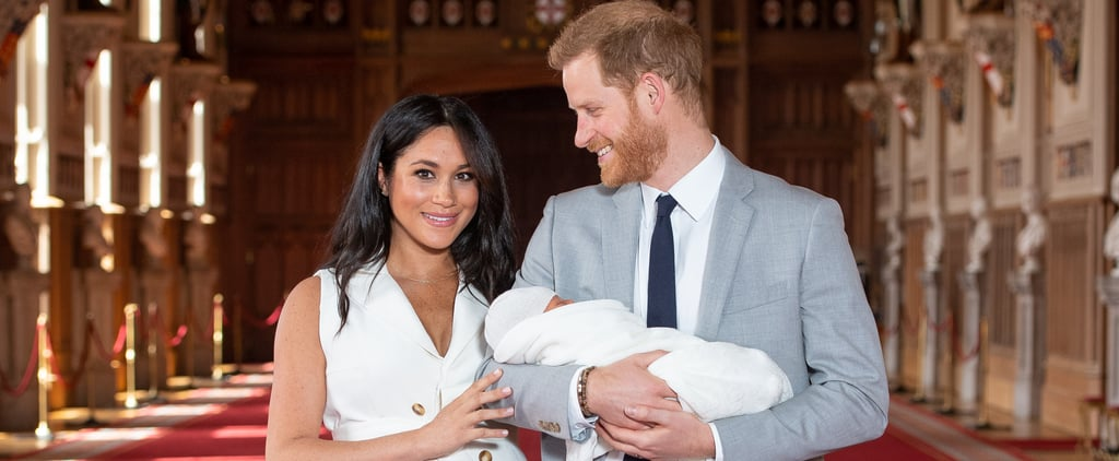 Meghan Markle White Trench Dress Royal Baby Photo