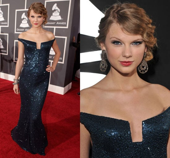 Taylor Swift in Kaufman Franco at 2010 Grammy Awards 2010-01-31 18:02:21