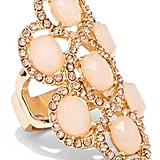 New York & Co. Rose Goldtone Cocktail Ring
