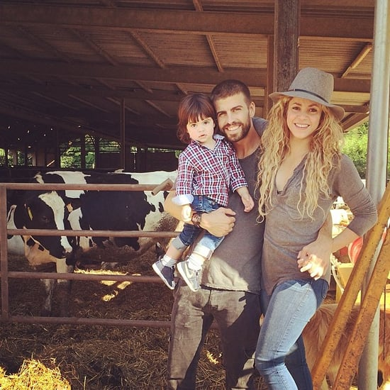 Shakira and Gerard Piqué Family Instagrams