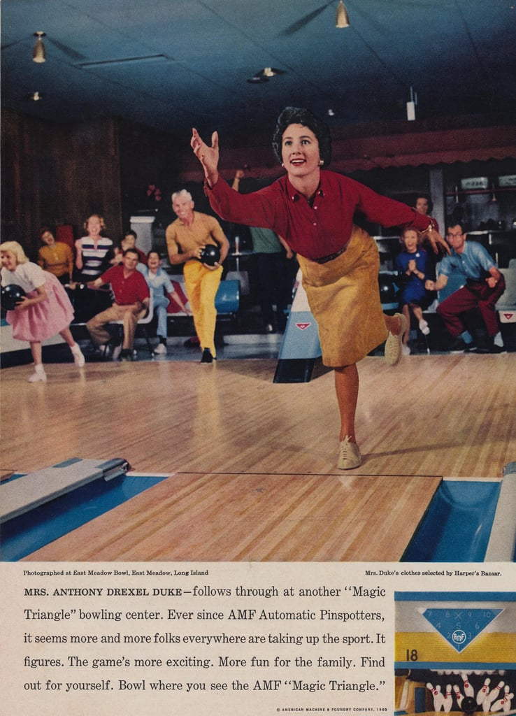 Get your blood pumping with a bowling game.