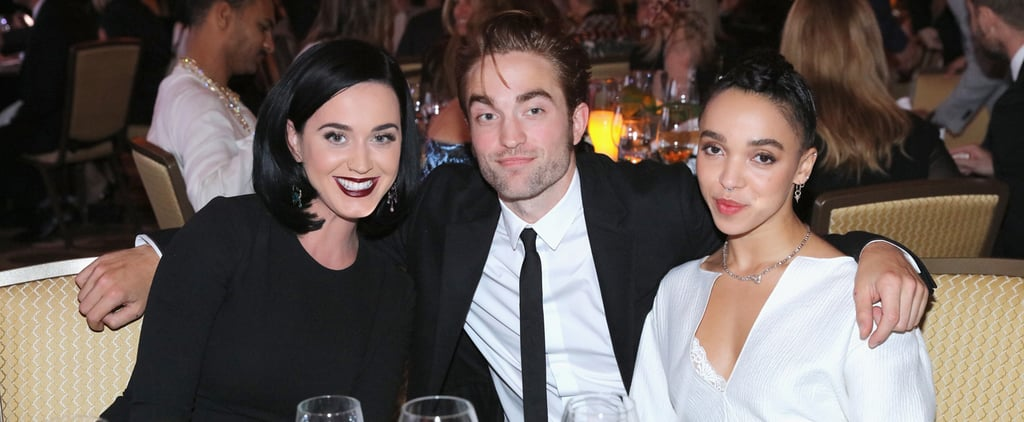 Robert Pattinson and FKA Twigs Dress Up For a Date Night . . . With Katy Perry?