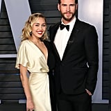 Liam Hemsworth and Eiza Gonzalez at Oscars Afterparty 2018