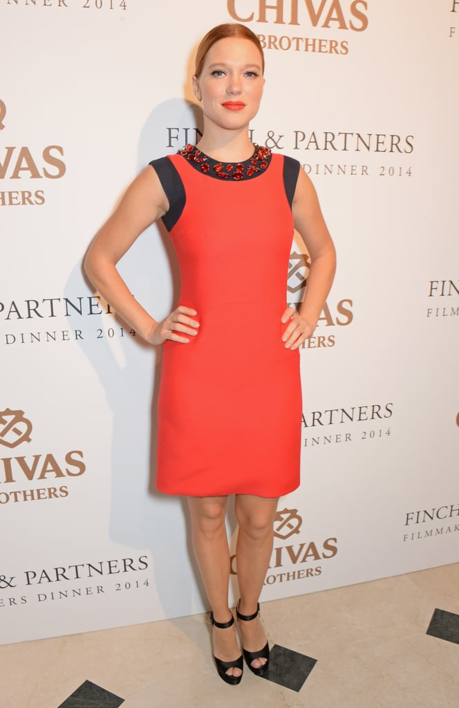Léa Seydoux at the Charles Finch Filmmakers Dinner
