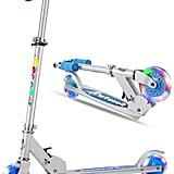 Folding LED Light Up Wheels Scooter