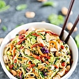Rainbow Veggie Dragon Courgette Spaghetti