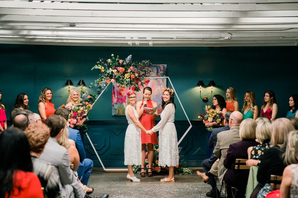 Colorful LA Wedding