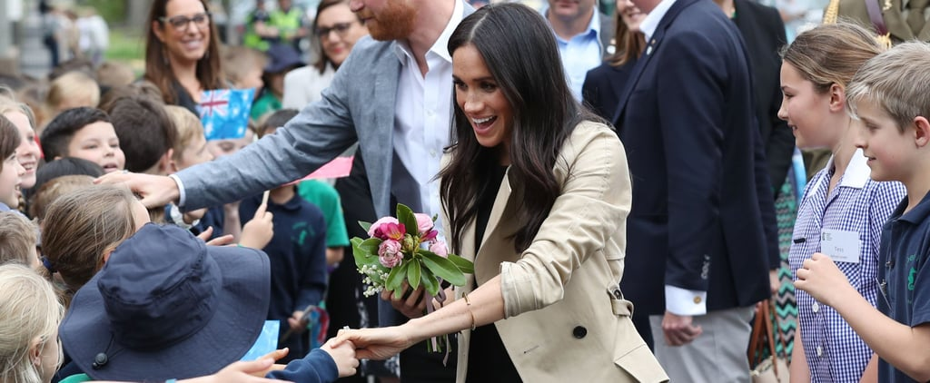 Meghan Markle Getting a Tiara in Australia 2018
