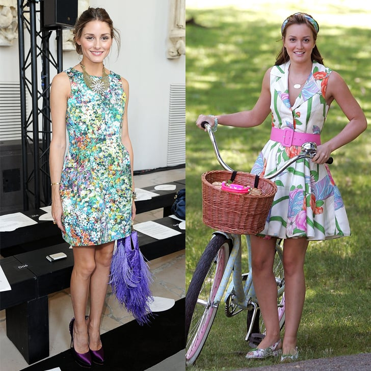 Amp Up A Floral Dress With Bright Accessories Olivia